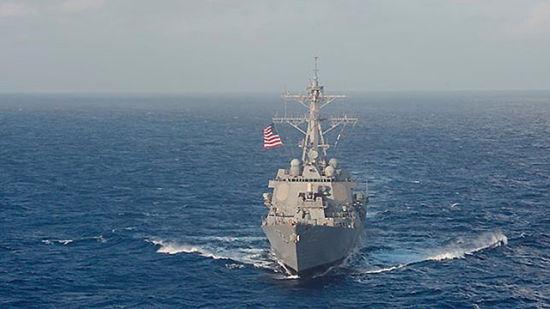 美军驱逐舰拉森号