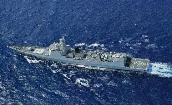 资料图:监视美军的中国海军170舰
