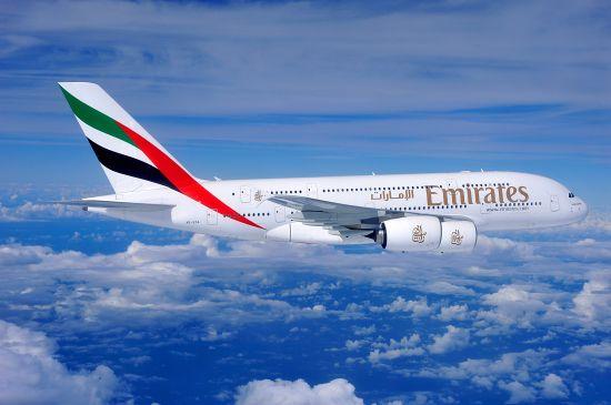 阿联酋航空A380客机