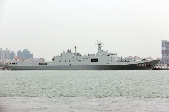 989长白山舰