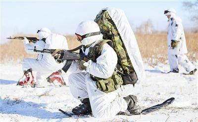 材料图像:俄罗斯北极部队