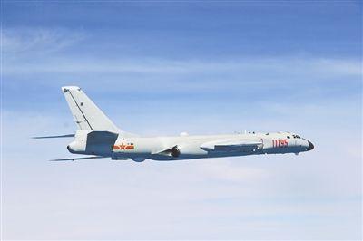 该部战机实施远程机动。