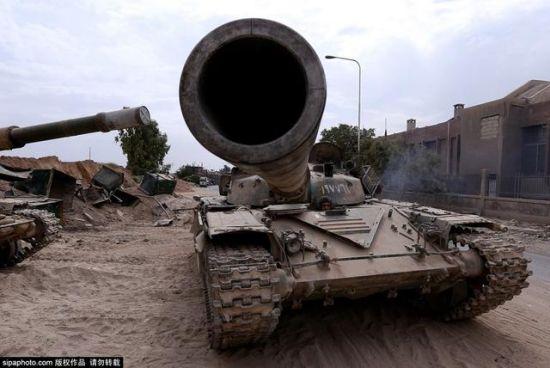 资料图:叙利亚政府军