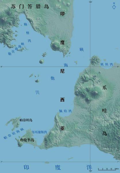 资料图:巺他海峡示意图