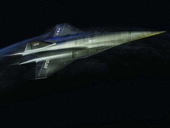 洛-马公司SR-72高超音速侦察机最新设想图曝光