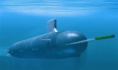 """""""俄亥俄""""级巡航导弹核潜艇"""