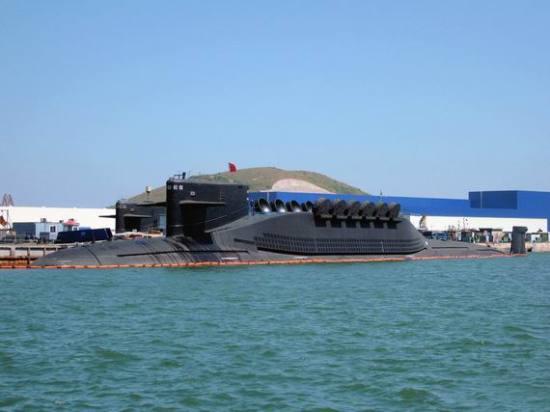 美称中国4艘094核潜艇配384枚弹头096更先进
