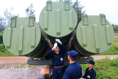 我首支海军岸导团打移动靶:顷刻间消灭敌舰