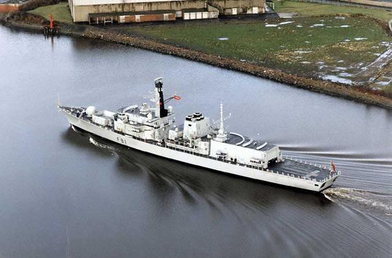 英国斥巨资升级23型护卫舰装新型反潜声纳(图)