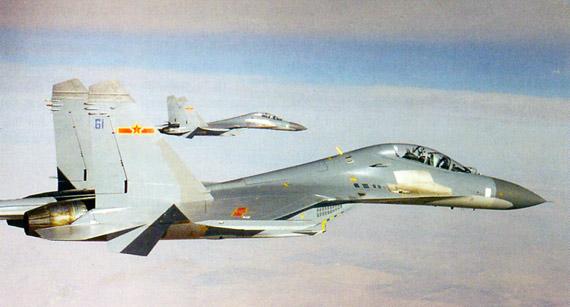 图文:中国方面于1991年开始采购俄制重型战机