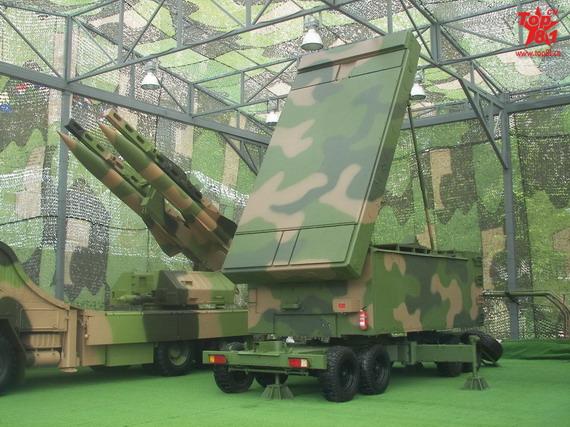 图文:解放军红旗12地空导弹系统