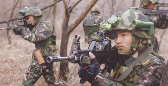 外媒称解放军数字化士兵系统类似美军陆地勇士