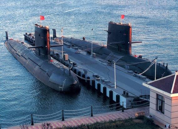 图文:潜艇部队已经被公认为中国海军最强大力量