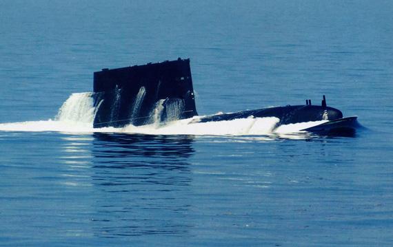 外媒炒作中国潜艇威胁暴露航母防御网有漏洞
