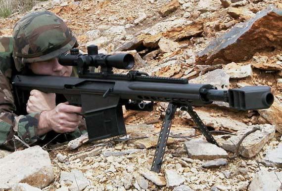 武器纵横:美XM109狙击枪可安装自动瞄准系统