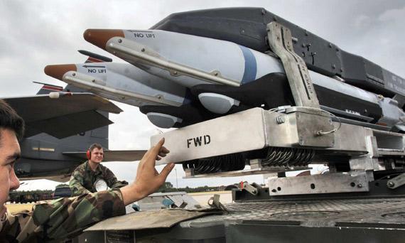 图文:美国空军新型SDBI精确制导炸弹