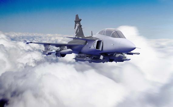 瑞典萨伯公司计划向克罗地亚提供12架鹰狮战机