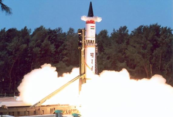 印度明年试射烈火III+导弹射程完全覆盖中国