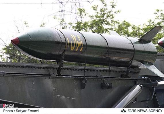 图文:伊朗国产近程弹道导弹近距特写