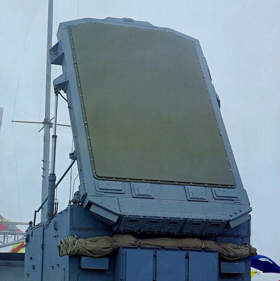 图文:中国海军战舰雷达