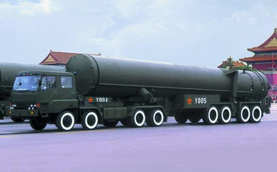 图文:中国东风31远程洲际战略导弹