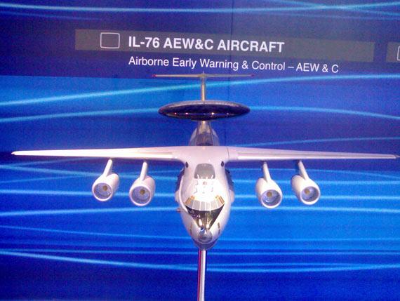 印度外购费尔康预警机首架开始飞行测试(组图)