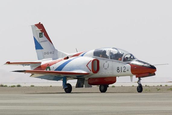 8架中国产K-8P高教机8月将交付巴基斯坦(组图)