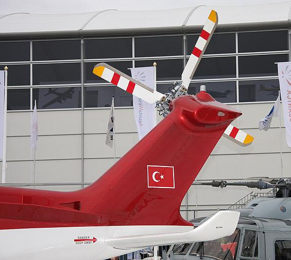 图文:AW139直升机尾桨