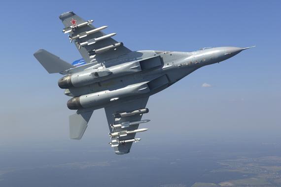 米格家族最新型号米格-35战机