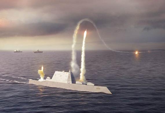 美国海军作战部长称DDG1000防空能力不足