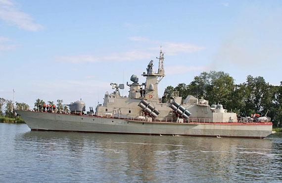 越南海军即将服役的新型1241.8级小型导弹舰