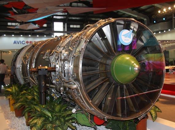 国产太行涡轮风扇发动机摄影:门广阔新浪独家图片,未经许可不得转载