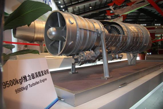 国产9500公斤推力轮风扇发动机摄影:门广阔