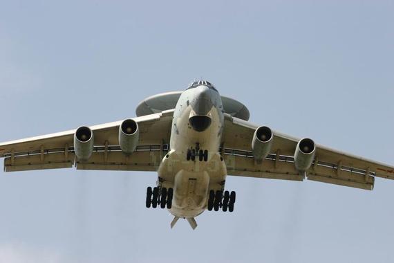 国产空警2000大型空中预警机