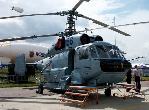 俄制卡-32共轴直升机