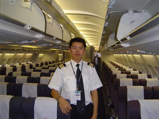 东航上海飞行部A320机长魏彬。
