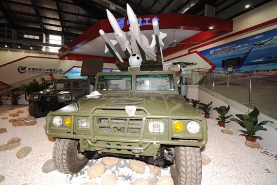 国产猎手2地空导弹防御系统