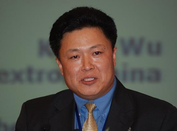 德事隆中国公司业务发展与政府事务副总裁吴景奎