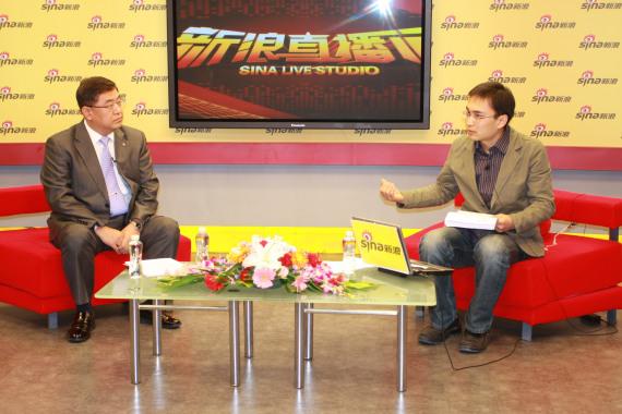 大韩航空中国地区的首席代表李承范做客新浪嘉宾聊天室。