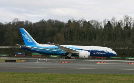 资料图:波音787客机-厦门航空拟购6架波音787飞机 总价10.98亿美元
