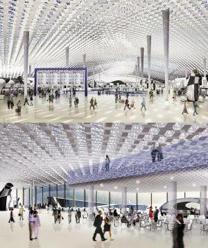 深圳机场T3航站楼钢结构顺利封顶