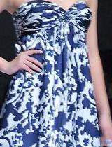 典雅素净的青花图案