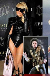 "LadyGaga活用""MJ式元素"":内裤外穿抢镜"