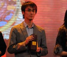 欧莱雅赞助世博会 欧莱雅集团代表梁定林领奖