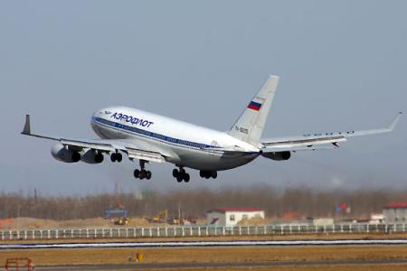资料图:俄罗斯图-96型客机