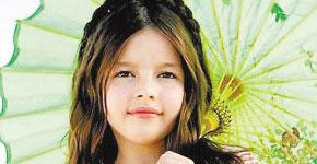 美国9岁女孩成超级名模年赚200万英镑