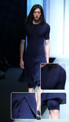 男人穿上连衣裙收男生也穿连衣裙 潘怡良混沌中性风