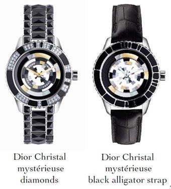 Dior晶钻腕表神秘机芯系列