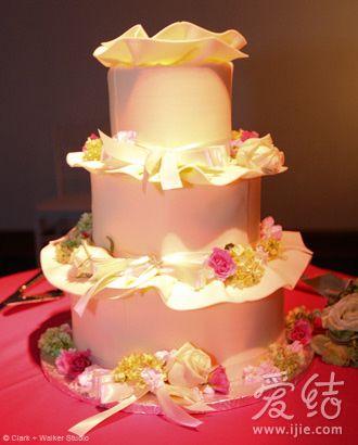 深粉黛绿打造新年季婚礼(组图)(2)图片