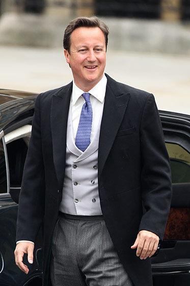 英国首相大卫-卡梅隆